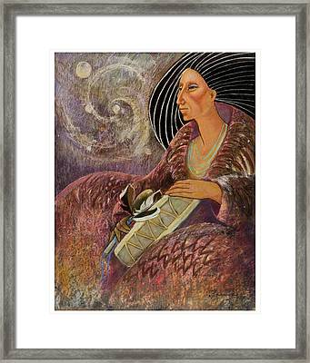 Mayan From Milky Way Gallacy Framed Print