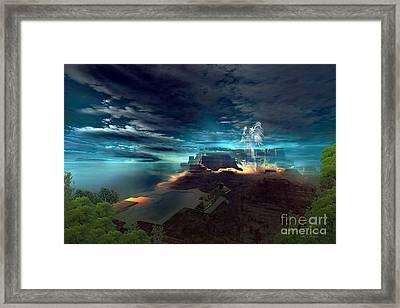 Mayan Mystery Framed Print
