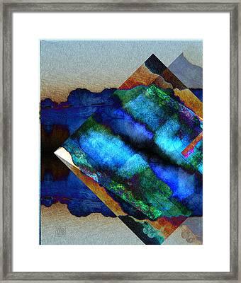 Mayanscape Framed Print
