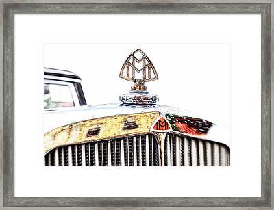 Maybach 12 Cyl. Hood Ornament Framed Print