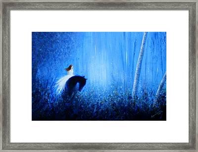 Maybe A Dream Framed Print by Kume Bryant