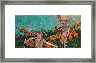 Maybe And Maybe Not 7236 Framed Print