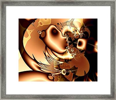 Maybe Someone Saw Where Went Miro. Framed Print by Tautvydas Davainis