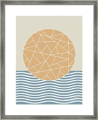 Maybe The Sea Framed Print by Absentis Designs