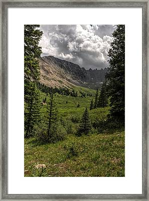 Mayflower Gulch Framed Print
