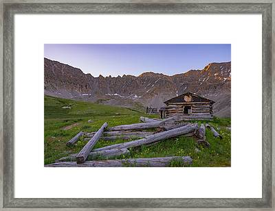 Mayflower Homestead Framed Print by Darren  White
