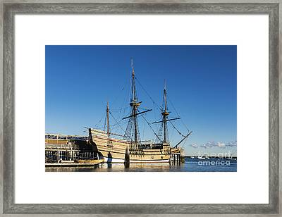Mayflower II Framed Print by John Greim