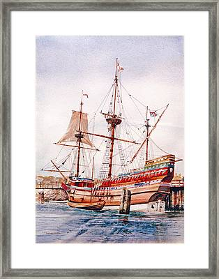Mayflower II  Framed Print