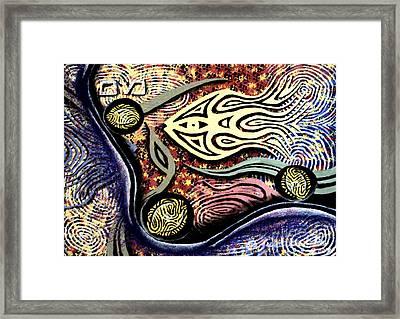 Mayim Framed Print by Luke Galutia