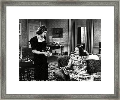 Mayo Methot Rochelle Hudson The Woman Is The Judge 1939 Framed Print