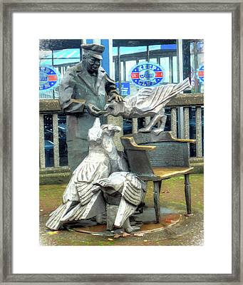 Mayor Of The Waterfront Framed Print by Greg Sigrist