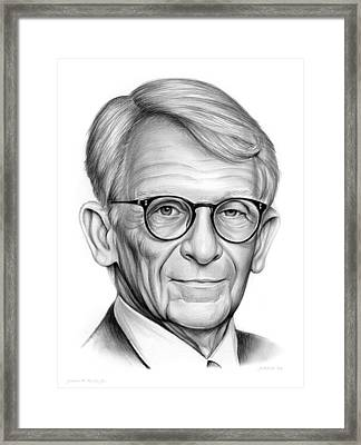 Mayor Riley Framed Print by Greg Joens