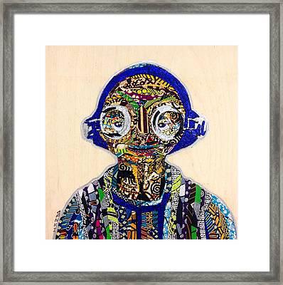 Maz Kanata Star Wars Awakens Afrofuturist Colection Framed Print