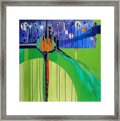 Mazal Tov  Framed Print by Marlene Burns