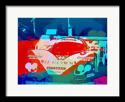 Mazda Framed Prints