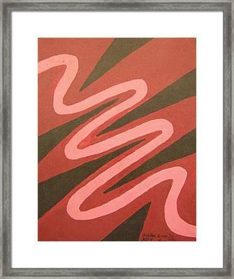 Maze Of Life Framed Print