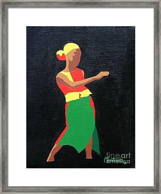 Mbili Framed Print by Christine Fontenot