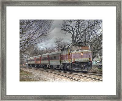 Mbta # 1009 Framed Print by Randy Dyer