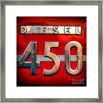 Mc Cormick Farmall Diesel 450 Framed Print