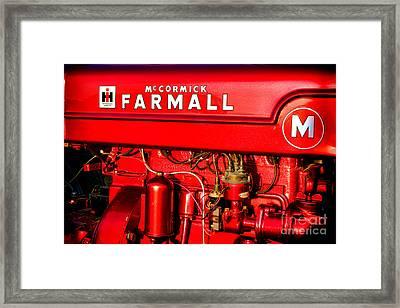 Mc Cormick Farmall M Framed Print