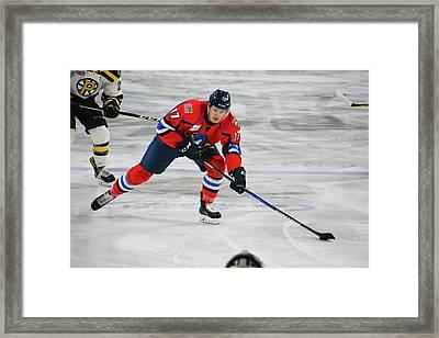 Mccann Eyes Shot On Net Framed Print