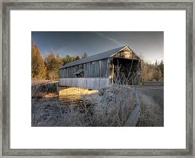 Mccann Framed Print by Jason Bennett