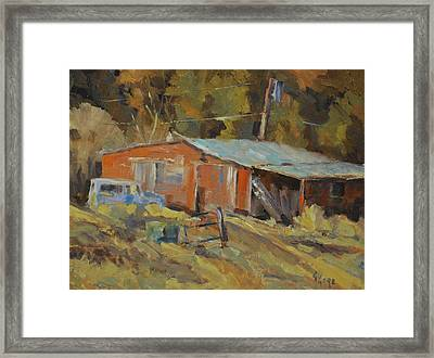 Mccarthy's Shed Framed Print by Gary Gore