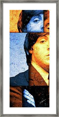 Mccartney Panel 1 Framed Print by Gary Bodnar