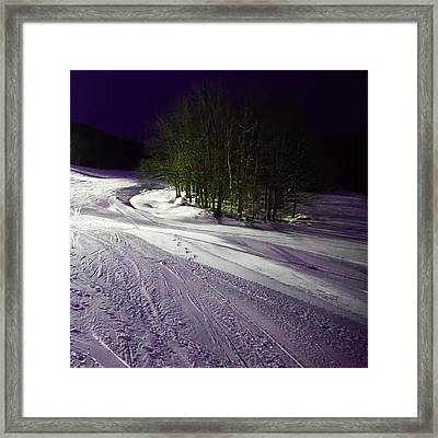 Mccauley Evening Snowscape Framed Print