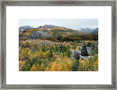 Mcclure Pass - 9606 Framed Print