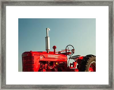 Mccormick-deering Farmall M Framed Print