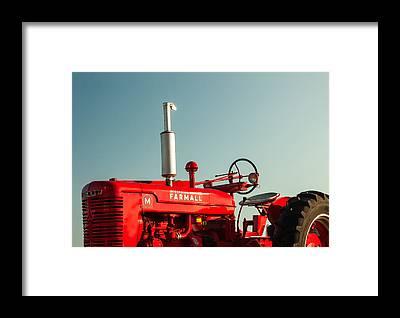 Tractor Framed Prints