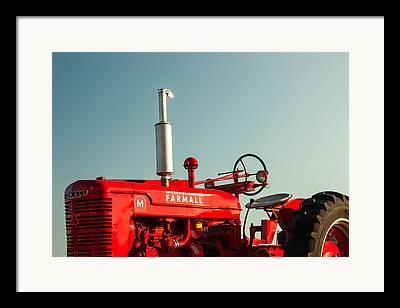 Tractor Photographs Framed Prints