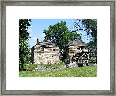 Mccormick Farm Framed Print by Eddie Armstrong