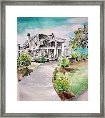 Mccree House Framed Print by Terri Kilpatrick
