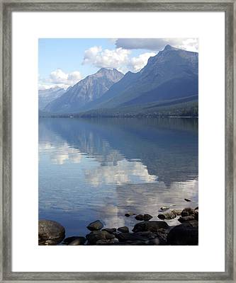 Mcdonald Reflection Framed Print by Marty Koch