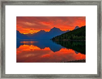 Mcdonald Sunrise Framed Print
