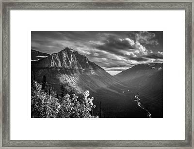 Mcdonald Valley Framed Print