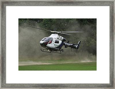 Framed Print featuring the photograph Mcdonnell Douglas Md-902 Explorer  by Tim Beach
