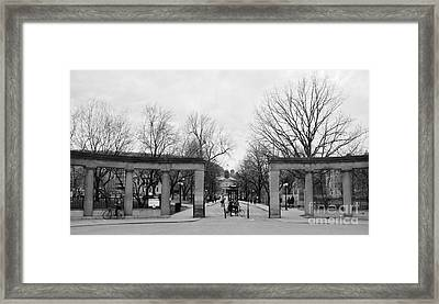 Mcgill Gates Framed Print