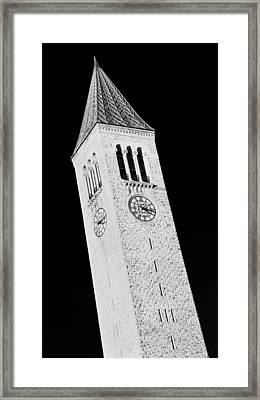 Mcgraw Tower #2 Framed Print by Stephen Stookey