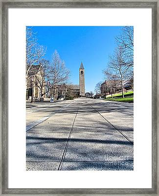Mcgraw Tower  Framed Print