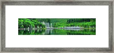 Mcguire Reservoir P Framed Print by Jerry Sodorff