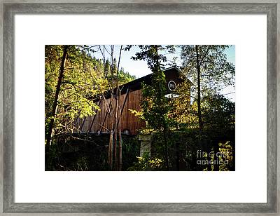 Mckee Bridge Framed Print