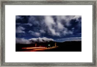 Framed Print featuring the photograph Mckenzie Pass by Cat Connor