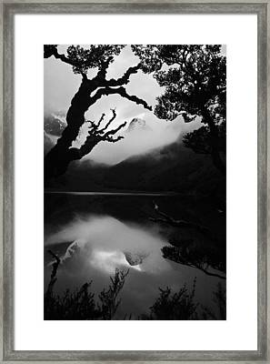 Mckenzie Reflection Framed Print by Karl Manteuffel