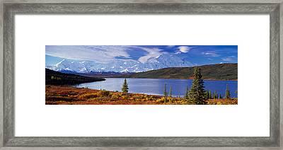 Mckinley River Denali National Park Ak Framed Print