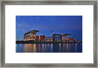 Mclane Stadium - Baylor Framed Print by Stephen Stookey
