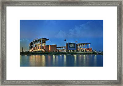 Mclane Stadium -- Baylor University Framed Print