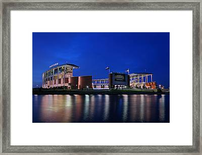 Mclane Stadium Evening Framed Print